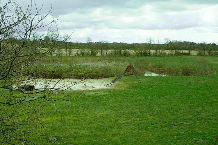 Haugstrupgård lille sø og legeplads